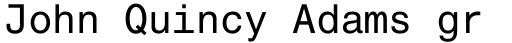 Helvetica Monospaced Pro Roman sample