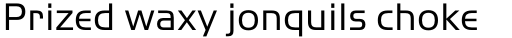 ITC Handel Gothic Pro Regular sample