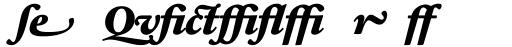 Sabon Next LT Black Italic Alternate sample