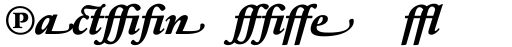 Sabon Next LT ExtraBold Italic Alternate sample