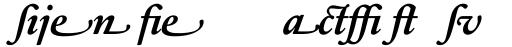 Sabon Next LT Bold Italic Alternate sample