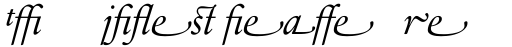Sabon Next LT Display Italic Alternate sample