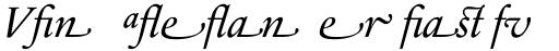 Sabon Next LT Italic Alternate sample