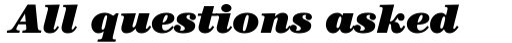 ITC Century Ultra Italic sample