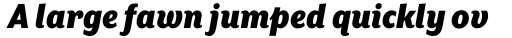 Mr Eaves XL Sans Nar Ultra Italic sample