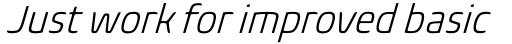 Biome Pro Narrow Light Italic sample