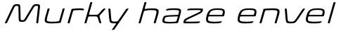 Biome Pro Wide Light Italic sample