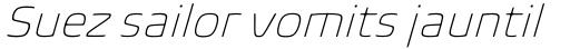 Biome Pro ExtraLight Italic sample