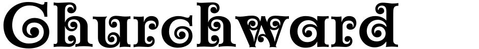Click to view  Churchward Maori font, character set and sample text