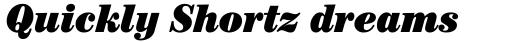 ITC Century Cond Ultra Italic sample
