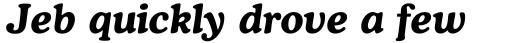 Cooper Bold Italic sample