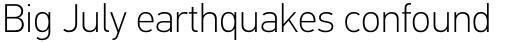PF DIN Text Universal Thin sample