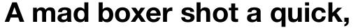 Helvetica Neue Pro Bold sample