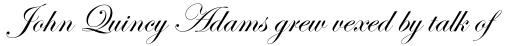 Edwardian Script Alt sample