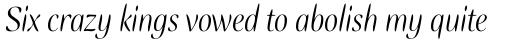 Ellipse Italic sample