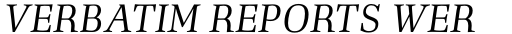 Richler PE Italic sample