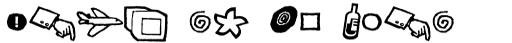 FF Kosmik Glyphs sample