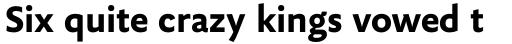 FF Yoga Sans OT Bold sample