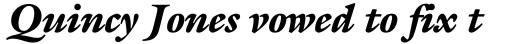 ITC Galliard Black Italic sample