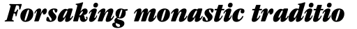 ITC Garamond Cond Ultra Italic sample