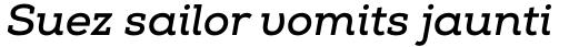 Nexa Slab Bold Italic sample
