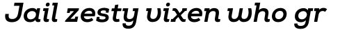 Nexa Slab ExtraBold Italic sample