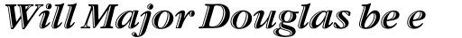 ITC Garamond Handtooled Italic sample