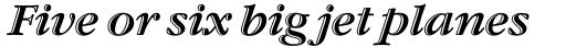 ITC Garamond Handtooled OS Italic sample