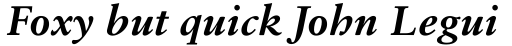 Sabon eText Bold Italic sample