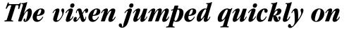 ITC Garamond Cond Bold Italic sample