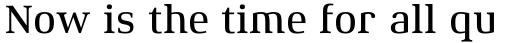 Xenois Serif Pro Medium sample