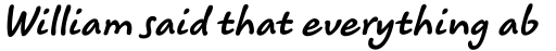 Koorkin Bold Italic sample