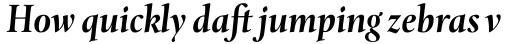 Levato Pro Bold Italic sample