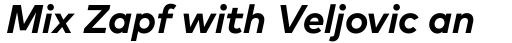 FF Mark Pro Bold Italic sample