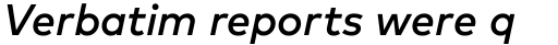 FF Mark OT Medium Italic sample