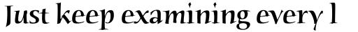 Humana Serif Medium sample