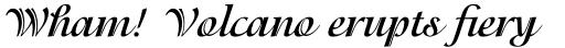 ITC Isadora Bold sample