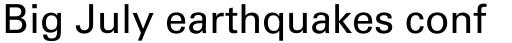 Univers Cyrillic 55 Roman sample