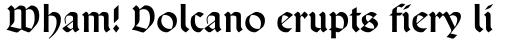 San Marco Cyrillic sample