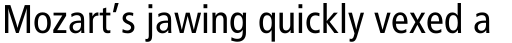 Frutiger Cyrillic 57 Condensed sample