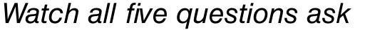 Helvetica Cyrillic Oblique sample