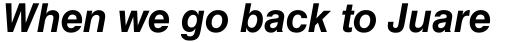 Helvetica Cyrillic Bold Oblique sample
