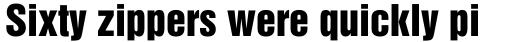 Helvetica Inserat Cyrillic sample
