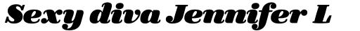 FF Quixo Pro Black Italic sample