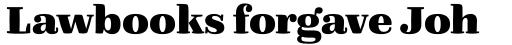 FF Quixo Pro ExtraBold sample