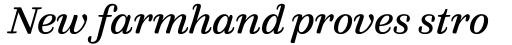 FF Quixo Pro Italic sample