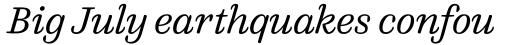 FF Quixo Pro Light Italic sample
