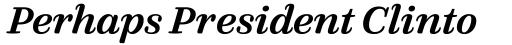 FF Quixo Pro Medium Italic sample