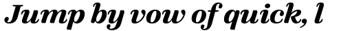FF Quixo OT Bold Italic sample