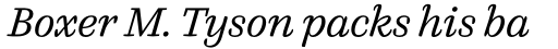FF Quixo OT Light Italic sample